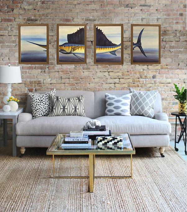 sailfish 4 panel on wall .jpg