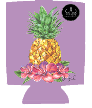 Pineapple12 oz. Can Coolie