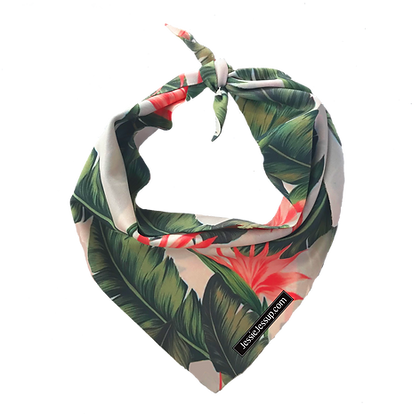 Bird of Paradise Pet Bandana