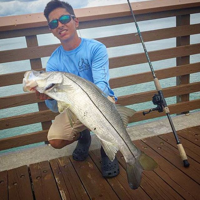 Shoutout to _fishmankev wearing our Columbia blue marlin performance long sleeve. Available online a