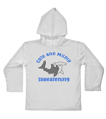 Hammerhead Cutie Hooded Toddler LS