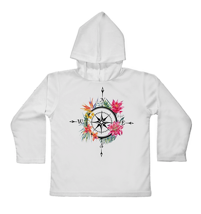 Islands Compass Hooded Toddler LS