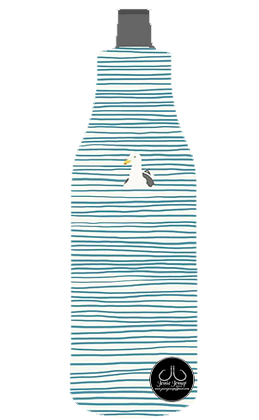 Waiting Seagull 12 oz. BOTTLE Coolie