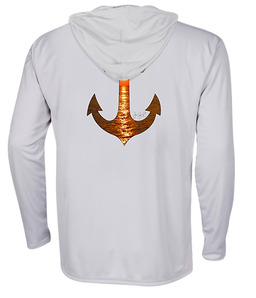 Sunset Anchor Performance Hoodie