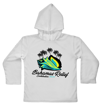Bahamas Relief Hooded Toddler LS