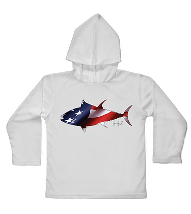USA Tuna Toddler Hooded LS