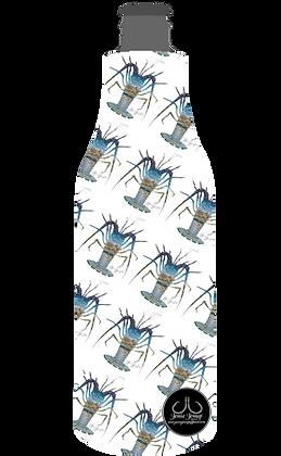 Lobster Print 12 oz. BOTTLE Coolie