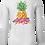Thumbnail: Ladies Tropical Pineapple LS SET