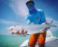 Our performance shirts are lucky shirts! Especially our mangrove bonefish and tarpon series shirts!