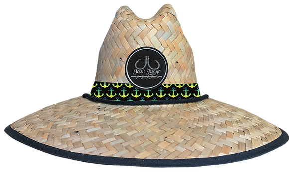 Mahi Anchor Straw Hat