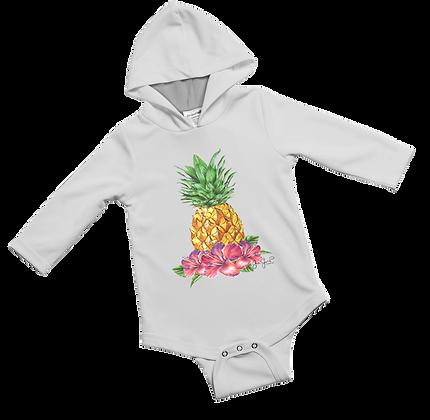 Tropical Pineapple Baby Onesie
