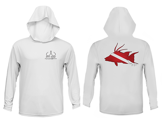 Youth Dive Hogfish Performance Hoodie