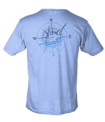Hammerhead Compass Poly Cotton SS