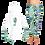 Thumbnail: Ladies Seaweed Seahorse Hoodie SET