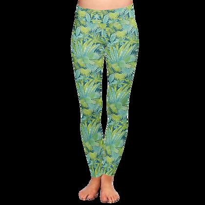Tropics Print WATER Leggings