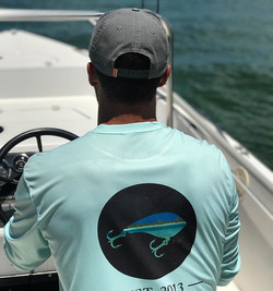 Fishing and on a mission