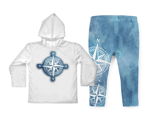 Oceans Compass Toddler Set