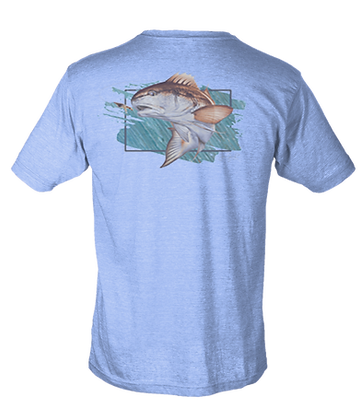 Redfish Poly Cotton SS