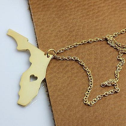 Florida Love Necklace