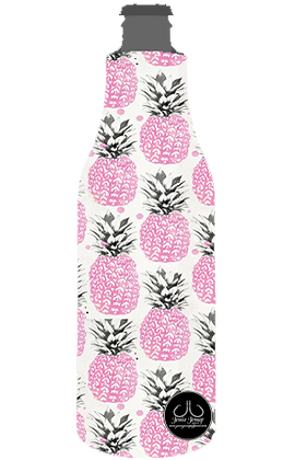 Pink Pineapples 12 oz. BOTTLE Coolie