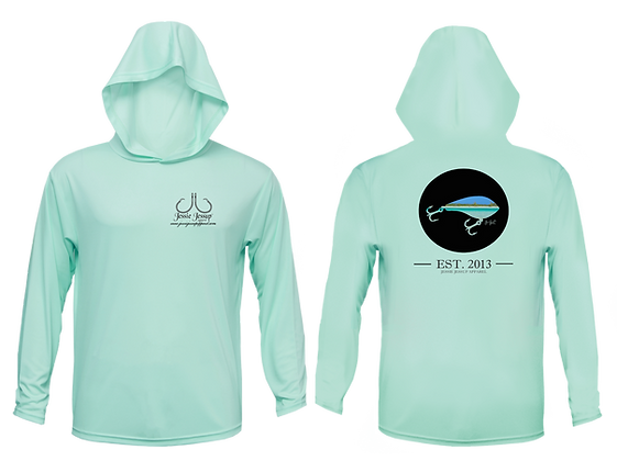 Youth Inshore Lure Performance Hoodie