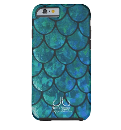 Mermaid Scales Tough Phone Case