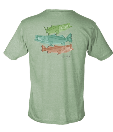 Snook Trio Poly Cotton SS