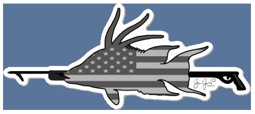 Hog-spear Sticker