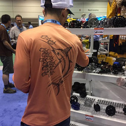 Our salmon colored marlin performance long sleeves all online and ready to ship! Get yours today! #i