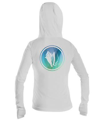 Ladies Conch Performance LS Hoodie