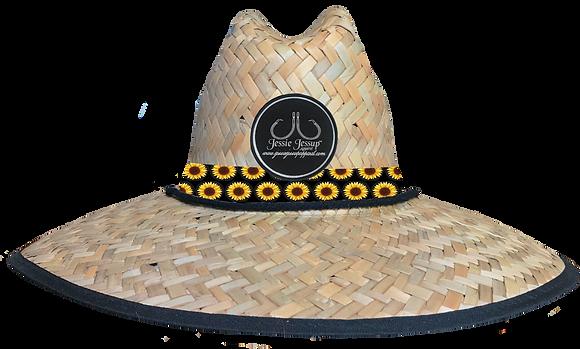 Sunflower Straw Hat
