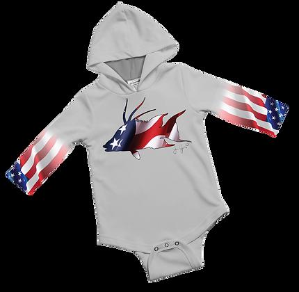 American Hogfish Baby Onesie