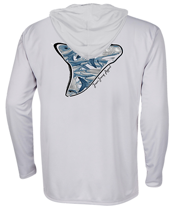 Shark Frenzy Performance Hoodie ITEM #0701 NO RULER