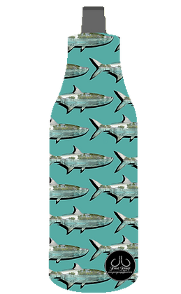 Teal Mang Tarpon 12 oz. BOTTLE Coolie