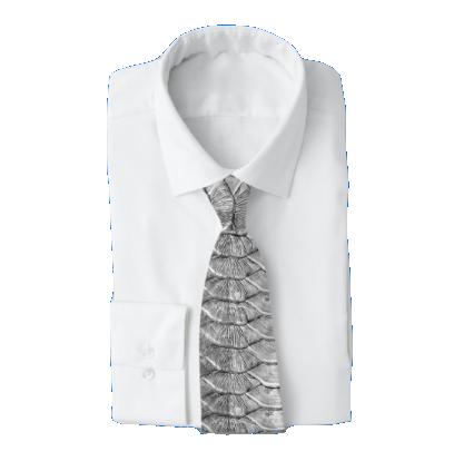 Tarpon Scales Men's Work Tie