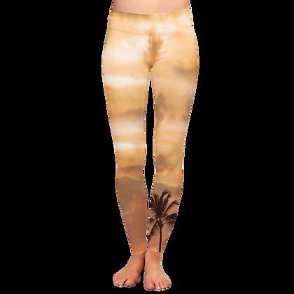 Sunset Palm WATER Leggings