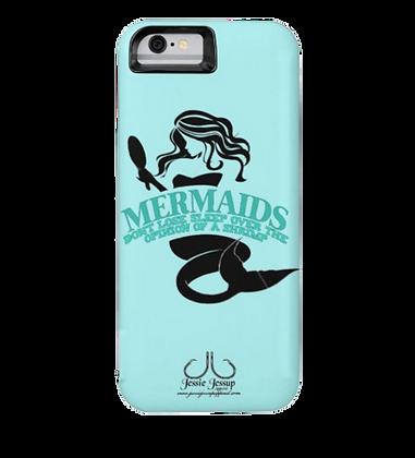 """Mermaids Don't Sleep"" Battery IPhone 6 Case"