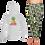 Thumbnail: Ladies Tropical Pineapple Hoodie SET