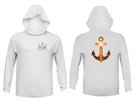 Youth Sunset Anchor Performance Hoodie
