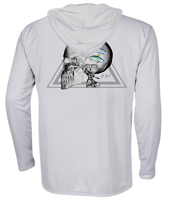 Fish on the Brain Performance Hoodie