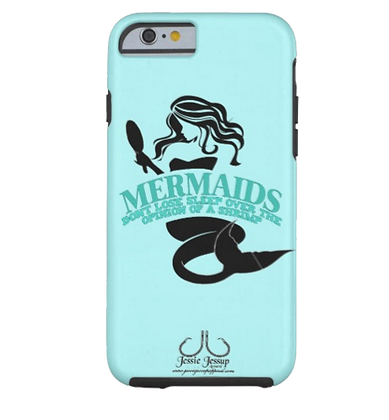 """Mermaids Don't Sleep"" Tough Phone Case"