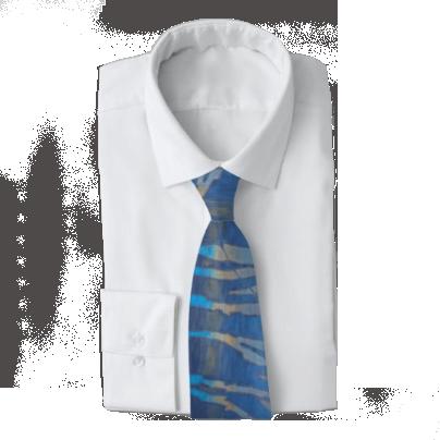 NAVY Wahoo Men's Work Tie