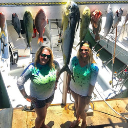 These ladies killed it! Awesome day fish