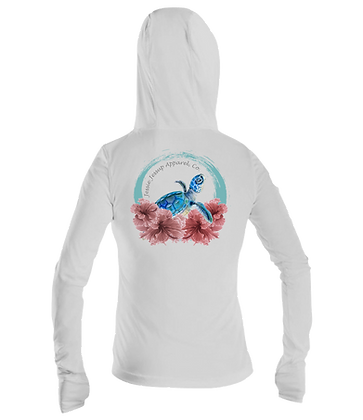 Ladies Emerging Turtle Performance LS Hoodie