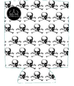 Skull & Bones 12 oz. Can Coolie