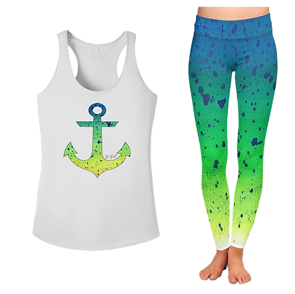 Ladies Mahi Anchor Tank Top SET