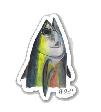 Tuna Head Sticker