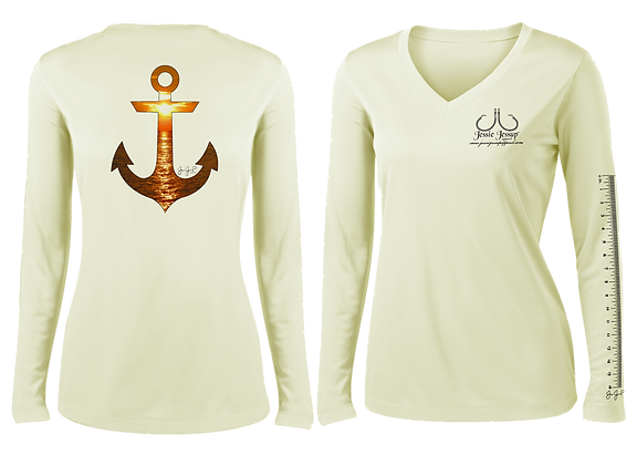 Ladies Sunset Anchor Performance LS