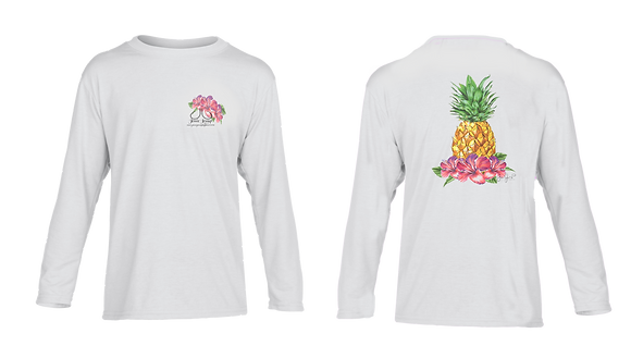 Youth Pineapple Performance LS/SS