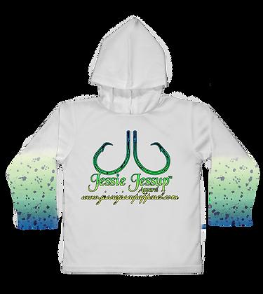 Mahi Logo Toddler Hooded LS